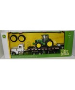 John Deere LP66952 Big Farm 7430 Tractor Lowboy Trailer Peterbilt Model 367 - $129.99