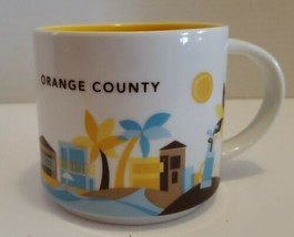 Orange County Starbucks You Are Here Mug Collector's 2014 - $12.38