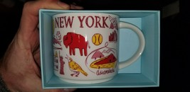 "Starbucks Coffee NEW YORK STATE Mug  ""Been There Collection"" 2018 New Wi... - $24.74"
