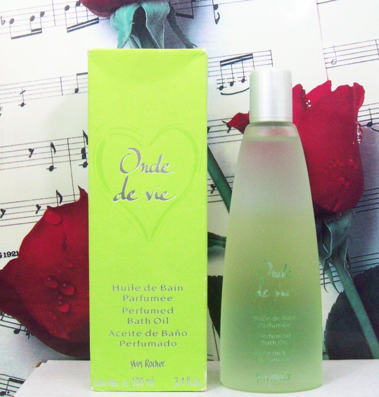 Yves Rocher Onde De Vie Perfumed Bath Oil 3.4 FL. OZ.  - $99.99