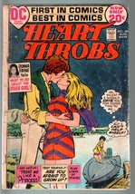HEART THROBS #144 1972 DC-ROMANCE-G-SPEED BOAT COVER G - $22.70