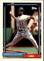1992 Topps Baseball Card #576 Heathcliff Slocumb - $0.98