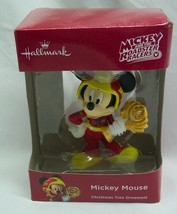 Disney MICKEY MOUSE AND THE ROADSTER RACERS HALLMARK CHRISTMAS ORNAMENT NEW - $14.85