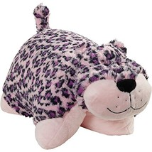Pillow Pets Pink Leopard Stuffed Plush Toy for Sleep, Play, Travel, and ... - $19.70