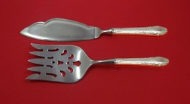 Enchantress by International Sterling Silver Fish Serving Set 2 Piece Custom - $141.55