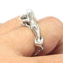Sterling Silver Mermaid Ring image 3