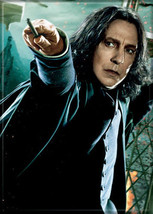 Harry Potter Professor Snape with Wand Photo Image Refrigerator Magnet NEW - $3.99