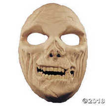 Costume Makeup: Prosthetic- Zombie Full Face  - £45.12 GBP