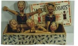 Vintage Uncle Sam's Big Show Jackie Acrobats Toy Set Complete National T... - £42.74 GBP