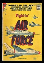 FIGHTIN' AIR FORCE #9 1957-CHARLTON WAR COMICS VG - $44.14