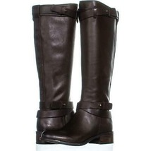 Franco Sarto Canary Knee Hgh Zip Up Boots 475, Oxford, 5 US / 35 EU - $54.71