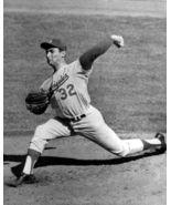 Sandy Koufax Los Angeles Dodgers 1963 Series 11X14 BW Baseball Memorabil... - $15.95