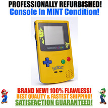*NEW SCREEN* Nintendo Game Boy Color GBC Pikachu Pokemon Limited Edition... - $51.43