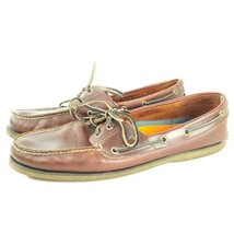 Timberland men's Boat Shoes Brown size 13 SS56 - $26.02