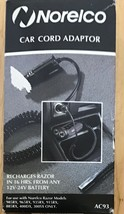 Philips Norelco AC93 Car Cord Adapter for Norelco Spectra & Action Razor... - $8.66