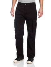 Levi's Strauss Men's Original Relaxed Fit Cargo I Pants Black 124620011