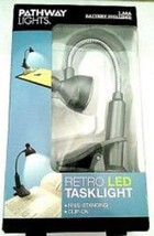 Pathway Lights Retro Led Tasklight W/clip-on Attachment Or Free-standing... - $12.19