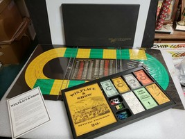 Vintage Win Place And Show Horse Racing 3M Sports Board Game 100% Complete - $24.74