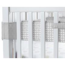 Carter's Fresh Air Crib Liner - Neutral Crib Bumper Alternative, Smoke G... - $29.65
