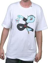 LRG Lifted Research Group Mens White Vampire Attire Dracula Logo T-Shirt NWT