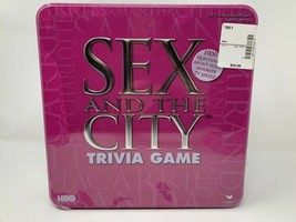 Sex In The City Trivia Game HBO TV Series 1000 Questions Pink Tin New & Sealed  - $17.81