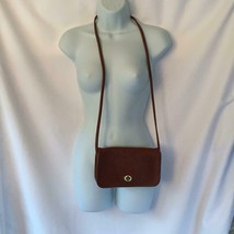 Vintage Coach Dinky Small Crossbody Bag #9375 Saddle Tan Brown - $43.53
