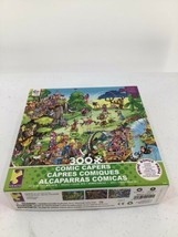 """Comic Capers Puzzle With Poster 24 X18"""" Jigsaw 300 Pieces Golf Safari - $9.49"""