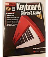 FastTrack Keyboard Method Chords Scales Piano Beginner Lesson Book w/ CD - $11.87