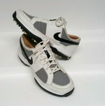 Nike Air Golf Shoes Black/White Checkered Women's sz 10M 317626-101 LN2 - $39.60