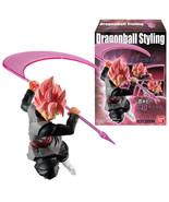 Dragon Ball STYLING Super Saiyan Rose Goku Black BANDAI Collection Toy Figure - $25.25