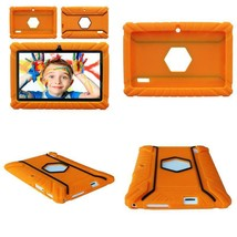 Contixo Defender Series Silicone 7 Inch Android Tablet Cover Case (Orange) - $12.51