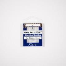 Klasse Twin Ballpoint 4.0mm/80, 1 Needle-Bundle of 5 - $13.85