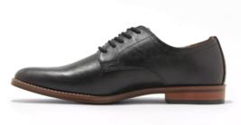 Goodfellow & Co Men's Black Faux Leather Benton Oxford Dress Shoes NEW image 2