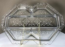"Navarre Fostoria 5-part 13.25"" #2419 Relish Dish Elegant Depression Glas... - $39.00"
