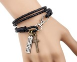Ry man cross bracelet wristband charm braclet for male accessories hand cuff yw610 thumb155 crop