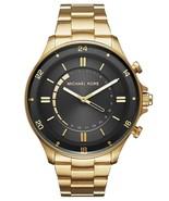 New Michael Kors Men Access Reid Stainless Steel Hyprid Smartwatch Mkt4014 - $283.13