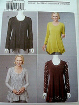 Vogue Pattern 8691 Katherine Tilton Design Misses Tops Plus Size 16 18 2... - $6.92