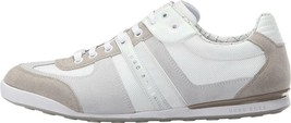 Hugo Boss Men's Premium Athletic Sport Suede Sneaker Shoes Akeen Natural image 2