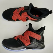 Nike LeBron Soldier XII 12 Bred Basketball Shoes Mens Size 13 Athletic B... - $121.54