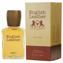 ENGLISH LEATHER AUTHENTIC COLOGNE SPLASH LARGE 236 ML ( NEW IN SEALED BOX) - $58.19