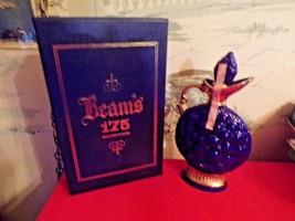 Vintagre 1968 Jim Bean Decanter in Beam's 175 months case-EMPTY - $34.65
