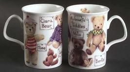 "ROY KIRKHAM ""MY FAVOURITE TEDDY"" BEAR 3 MUGS FINE BONE CHINA MADE IN ENG... - $59.50"