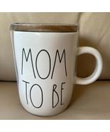 RAE DUNN by Magenta MOM TO BE Coffee Tea Mug CUP w/ Lid Farmhouse Home D... - $21.90