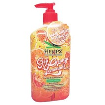 Hempz Goji Orange Lemonade Moisturizer  17.0z
