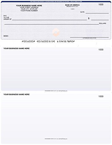 Black 11 1//4 x 9 3 Ring ABC Check Binder for End-Stub Deskbook