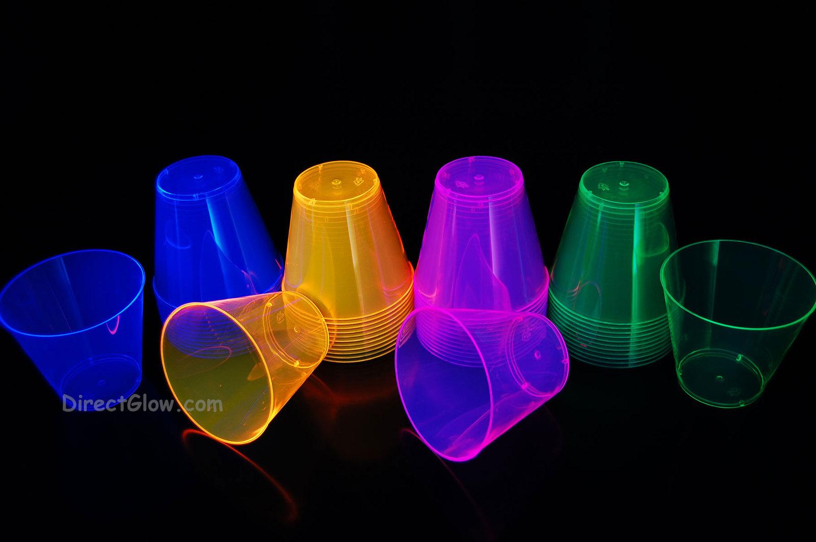 Asst 9oz blackight cups3