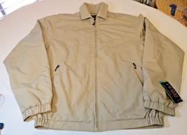 Mens Golf IZOD XFG swingflex S jacket NWT 85.00 4563138921 425671 khaki ... - $65.86