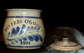 1994 Daviess County Westerwald Pottery/Stoneware Bowl with Lid AA-191827 (2 Piec image 2