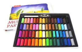 Soft Pastels Chalk 64 Set Assorted Colors Box For Artist Kids Safe Mungy... - $16.99