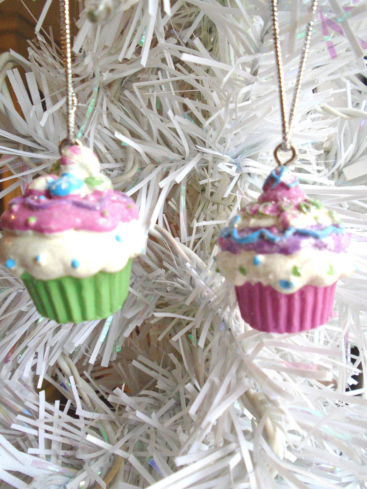 Resin Christmas Ornaments.Mini Cupcakes Resin Christmas Ornaments Gift And 13 Similar